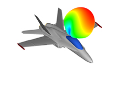Using HyperWorks to Generate Electrically Large Surface Meshes for Radar Cross Section or Antenna Placement Simulation