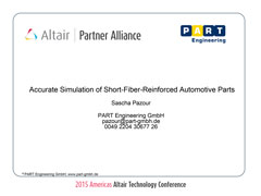 Accurate Simulation of Short-Fiber-Reinforced Automotive Parts