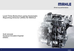 Lead Time Reduction using Automatic Reporting Director (ARD) for MAHLE