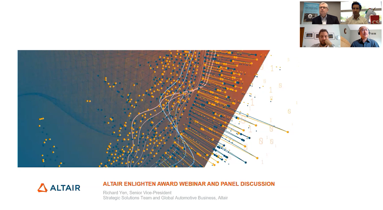 The Altair Enlighten Award 2020 - Winners & Highlights Webinar & Panel Discussion
