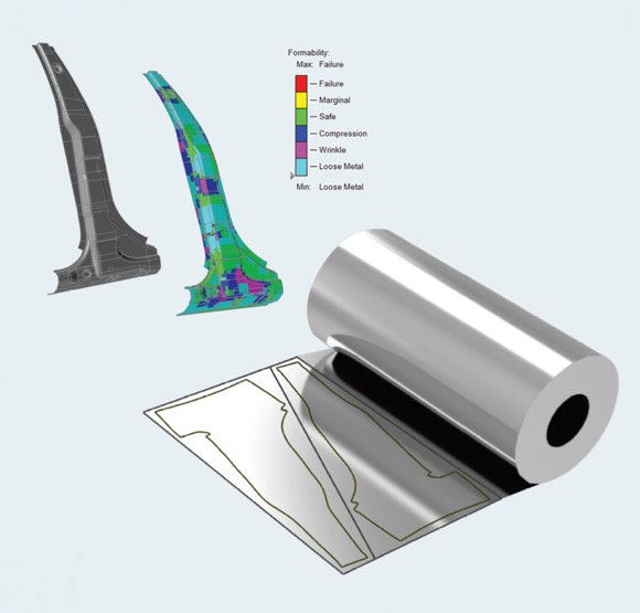 Simulation-Driven Design of Sheet-Metal Components