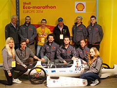 Design of a Fuel Cell Race Car for the Annual Shell Eco-Marathon with Altair Products