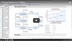 Webinar Recording: Thermal Engineering in Maple