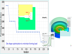 A Minimization of Forming Loads in the Gear Driver Forging Process Using AFDEX and HyperStudy