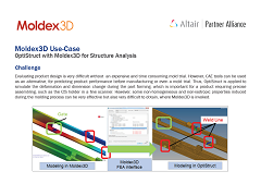 Use Case: OptiStruct with Moldex3D for Structure Analysis