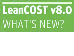 What's New? - LeanCOST 8.0 Datasheet