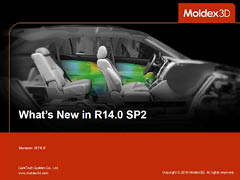 What's New? - Moldex3D R14.0 SP2