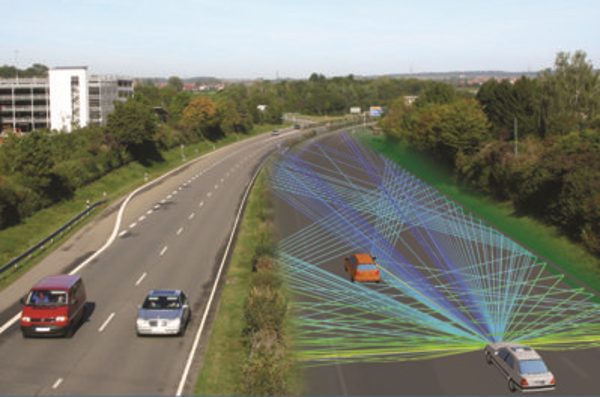 Virtual Drive Tests for ADAS Radar Sensors and Communication Antennas