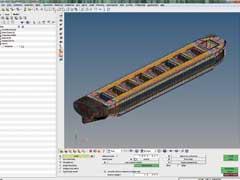 【日本語事例】新来島どっく:大規模データを扱う造船設計の構造解析を大幅にスピードアップ