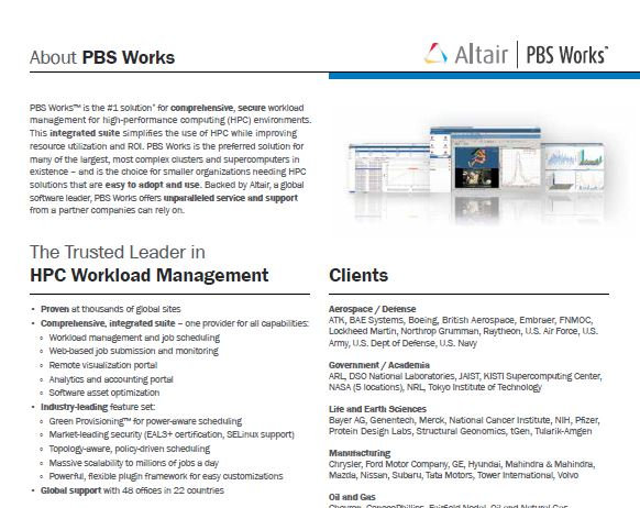 PBS Works Fact Sheet