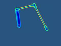 ESLM Shape Optimization of an MBD System