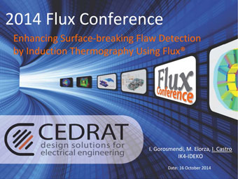 Enhancing Surface-breaking Flaw Detection by Induction Thermography Using Flux