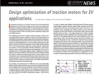 Design Optimization of Traction Motors for EV Applications
