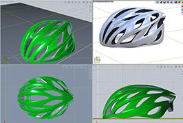 Evolveのヘルメットのモデル