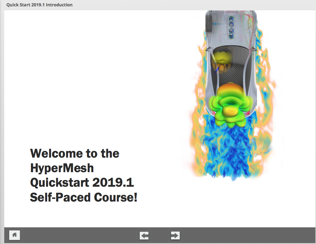 HyperMesh Quickstart v2019