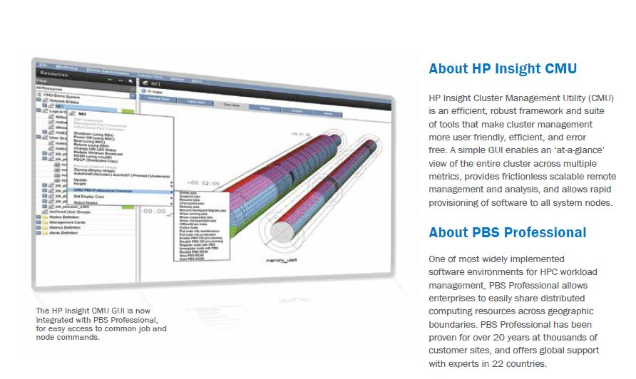 HP CMU PBS Connector: Integration Overview for PBS Professional and HP Insight Cluster Management Utility