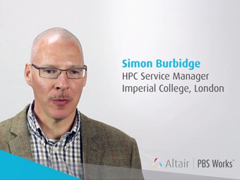 Imperial College Testimonial - Altair PBS Pro