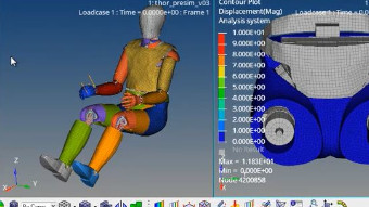 Altair HyperMesh Crash & Safety - Dummy Pre-Simulation