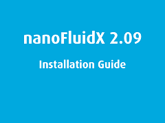 Installation Guide: nanoFluidX 2.09
