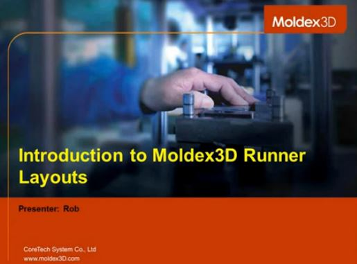 Optimizing Runner Layouts with Moldex3D