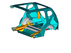Optimization Center – Consistent Integration of Structural Optimization in the Development Process of Passenger Cars