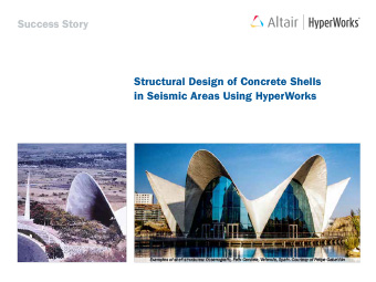 Structural Design of Concrete Shells in Seismic Areas Using HyperWorks