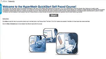 HyperMesh Quickstart v2017