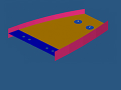 RD-2040 Nonlinear Gap Analysis of an Airplane Wing Rib