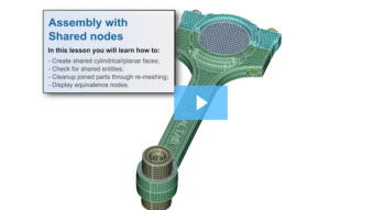SimLab Tutorials - Assembly with Shared Nodes