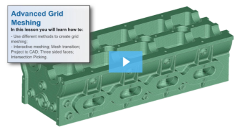 SimLab Tutorials - Advanced Grid Meshing
