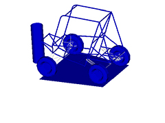 Designing All-Terrain Vehicle Frames Using Topological Optimization