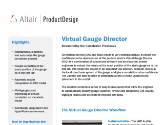 Virtual Gauge Director Datasheet