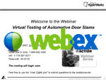 Virtual Testing of Automotive Door Slams
