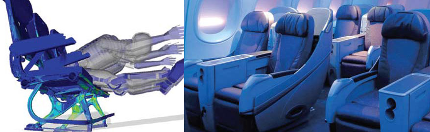 B/E Aerospace – Lighter, safer passenger seats