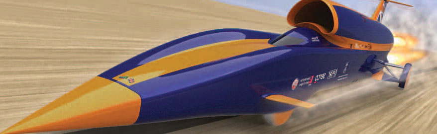 Bloodhound SSC - On Track to Break the