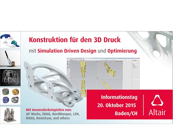 Konstruktion für den 3D Druck