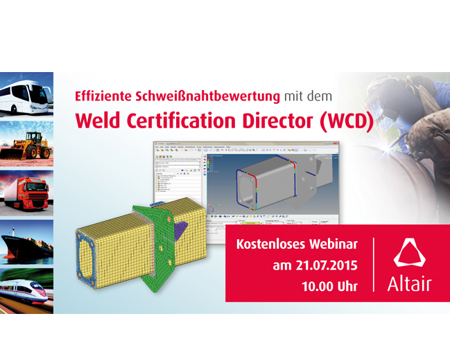 Weld Certification Director Webinar