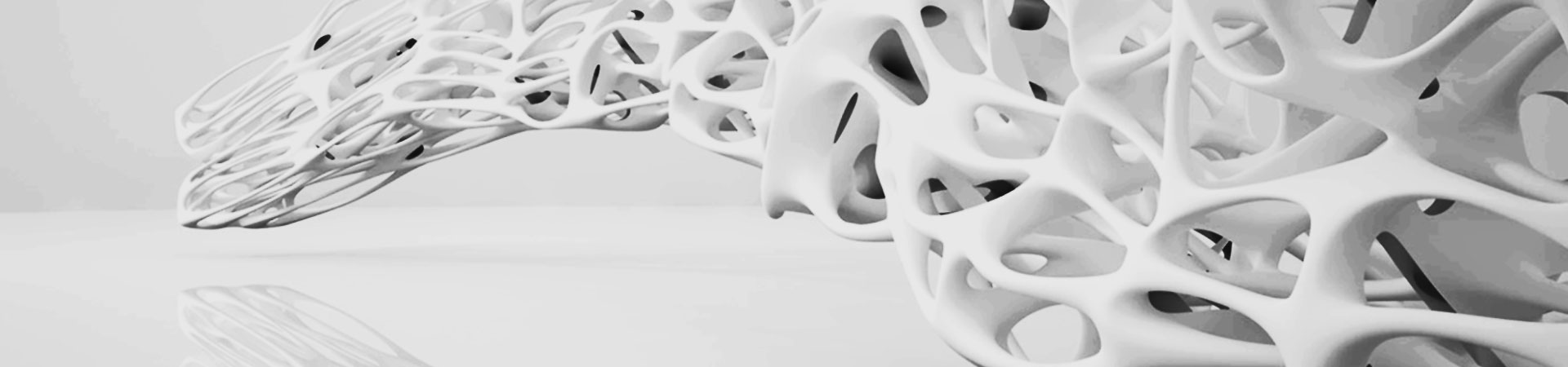 Lightweight Design Structure, Organic Shapes, generative design, derived from topology optimization