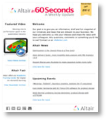 Altair in 60 Seconds