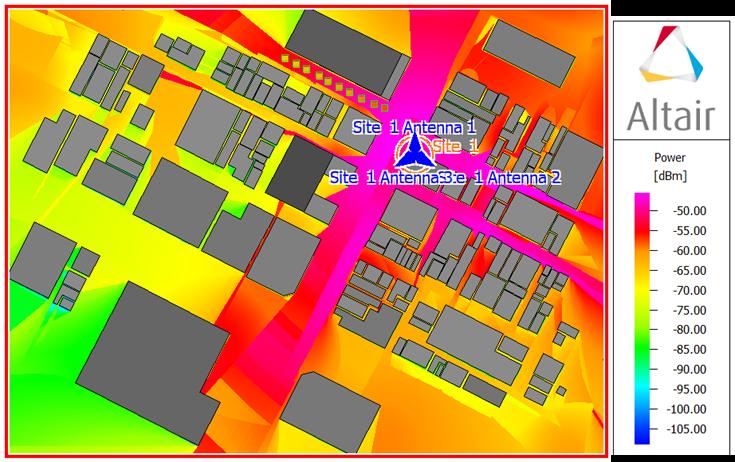 2GHZ電波伝搬シミュレーション結果