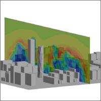 都市の熱流体解析