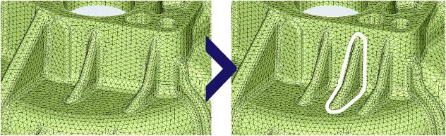 FEMデータの形状修正/作成機能