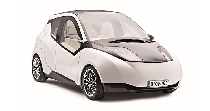 Biofore Concept Car applies composites in innovative ways – with some help from ESAComp.