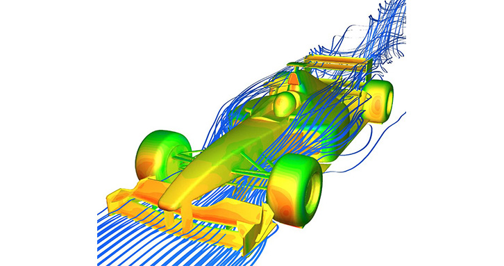 Aerodynamic performance prediction of formula car