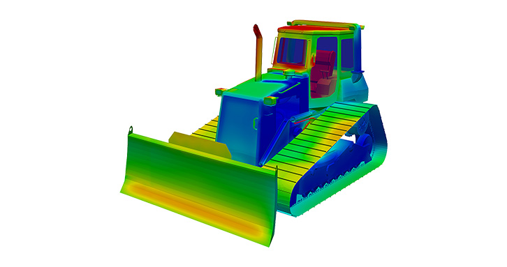 Heavy vehicles present unique thermal modeling situations that are difficult to predict.