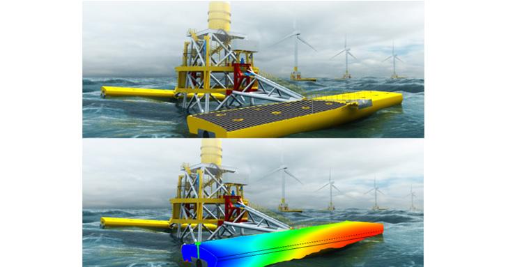 Tối ưu hóa thiết kế kết cấu cho máy phát năng lượng sóng Wave