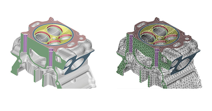 Accelerates CAE model development for complex assemblies