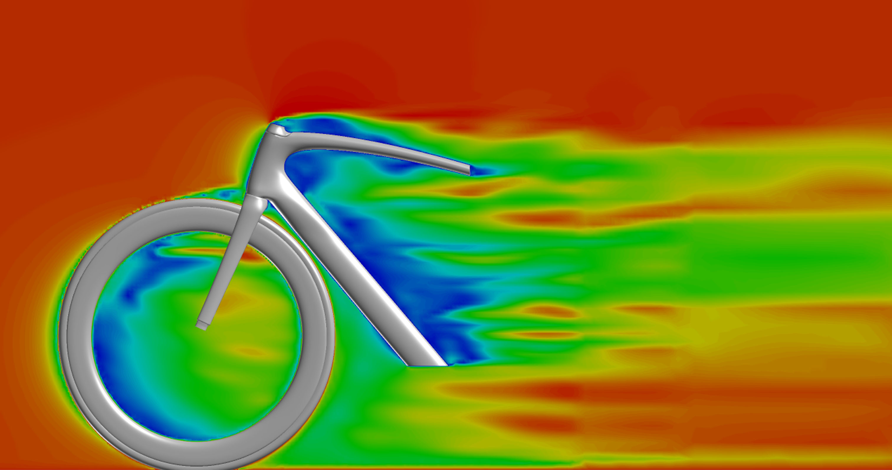 Improving aerodynamic performance on a bicycle (Courtesy of Specialized)