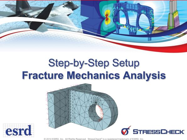 Aerospace Fracture Mechanics using StressCheck