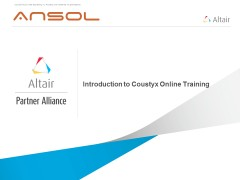 Introduction to Coustyx Online Training
